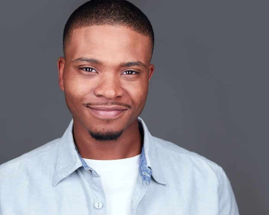African American Actor Headshot