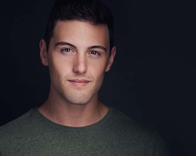 Philadelphia Actor Dark Moody Headshot Portrait