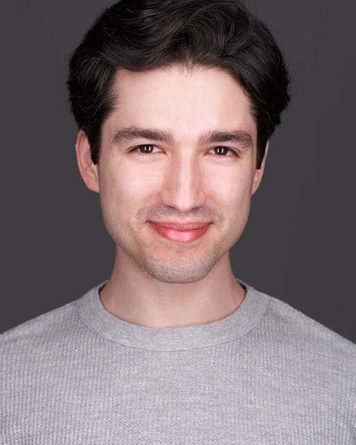 Philly Actor Dark background Headshot